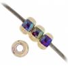 Miyuki Seed Bead 11/0 Purple Rainbow Opaque Iris Aurora Borealis